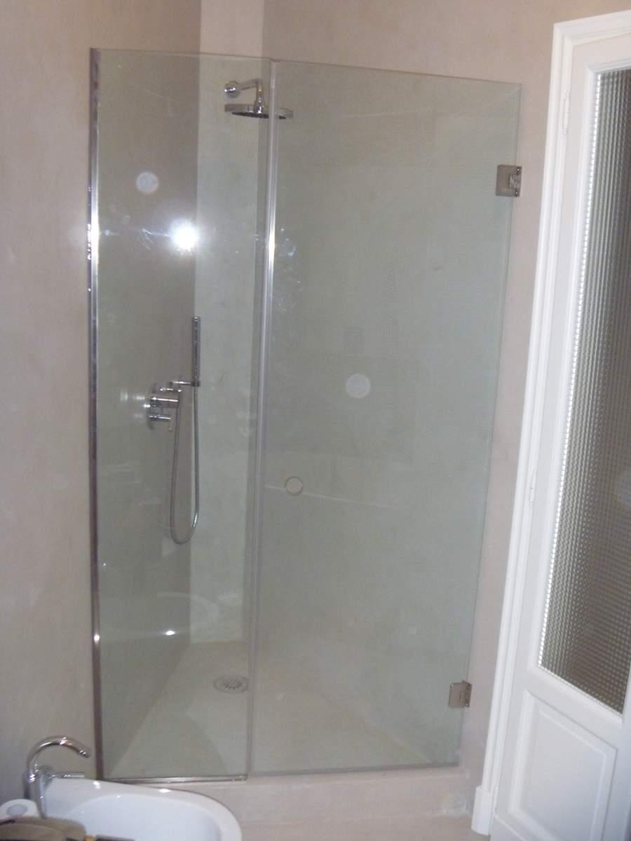 Box086 box doccia su misura vetraio corniciaio mussi giovanni dal 1973 a milano italia - Box doccia su misura milano ...